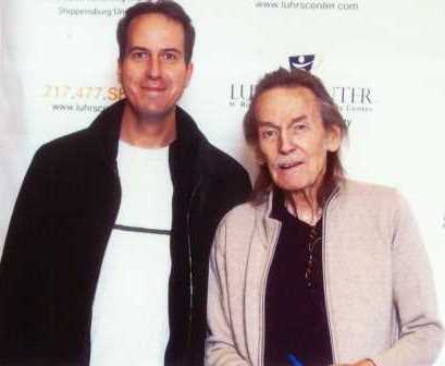 Dennis with Gordon Lightfoot comp