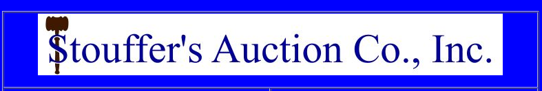Stouffers Auction Blue Background