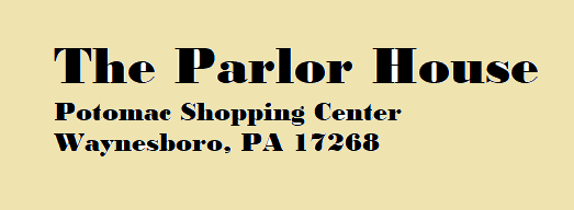 phone party parlor house logo